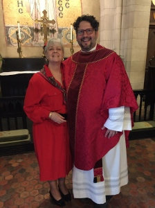 Wear red for Pentecost, everyone!